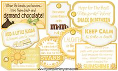 My Computer is My Canvas: {NEW} Scatter Sunshine Printables + a FREEBIE!