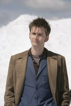 Tenth Doctor Smiling ... Tennant) on Pinter...