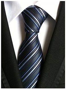 Allbebe Men's Classic Striped Silver Grey Jacquard Woven Silk Tie Formal Necktie Allbebe http://www.amazon.com/dp/B019P1N8BW/ref=cm_sw_r_pi_dp_h6IWwb0VMR5SN.