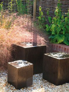 ...a garden spot that seeks a babble of a brook...this will do nicely!