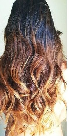 Maybe we'll do a bit more ombre next time, but not this bleached out on the ends.  It will be way too hard on my hair stripping that much natural color out.  This would be a good one at the end of summer to add my dark back in when the ends are already  sun bleached.