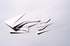 Architectural Model - Zaha Hadid, Cardiff Bay Opera House, Cardiff, Wales, 1994–1996