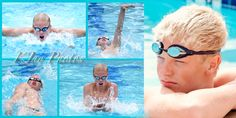 He loves to swim.  We captured this high school senior swimmer at the end of his senior portrait session. K Jay Photos Photography, www.kjayportraits.com