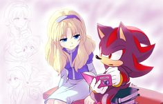 Maria Robotnik by BloomTH on DeviantArt Shadow The Hedgehog, Maria The Hedgehog, Sonic The Hedgehog, Sonic And Amy, Sonic And Shadow, Maria Robotnik, Yuri, Shadow And Maria, Sonic Franchise