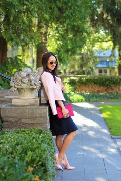 Outfit Highlight: Rose Colored Touches