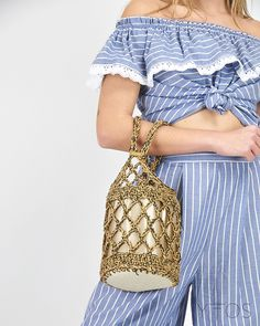 Whatever the occasion, finish off your outfit with bags from our recent collection. From a cute clutch to a essential beach bag, add the perfect finishing touch. Barrel Bag, Fishnet, Cute, Bags, Outfits, Shopping, Collection, Women, Fashion