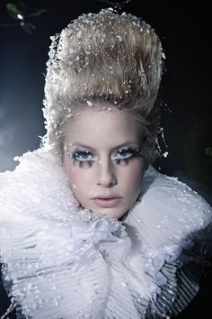 snow queen hair - Google Search