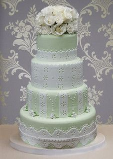 Eyelet Cake by Vanilla Cake Shop, via Flickr