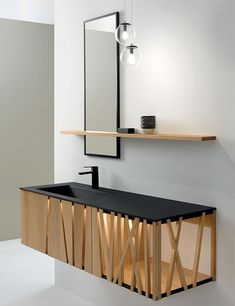 Dressing Room Design, Antibes, Modern Bathroom, Floating Shelves, Tiny House, Woodworking, Home Decor, Wood Work, Place