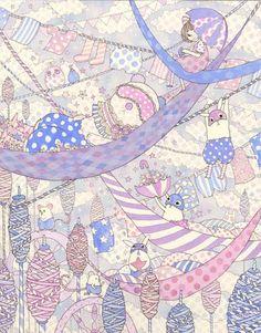 "Yoko Furusho - Camouflage ""Purple"""