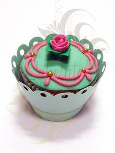 Caketutes Cake Designer: Cupcake Flor - Flower cupcake