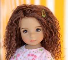 Sharon in Spain: How to make a lambswool wig for your doll.....photo heavy!