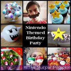 **THIS IS PERFECT for the next bday i have coming up!** The Purple Pumpkin Blog: Nintendo Themed Birthday Party