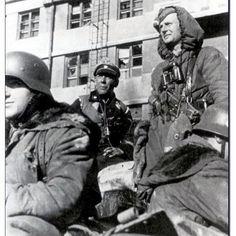 "Another photo of soldier from 3rd SS Panzer Division ""Totenkopf"" passing trought recaptured Kharkov, Spring 1943 #wwii #military #history #militaryhistory #scharfuhrer #tank #warthunder #kharkov #ukraine #ussr #russia #wehrmacht #luftwaffe #kriegsmarine #ss #waffenss #totenkopf #award #medal #german #germany #deutsch #deutschland #spring #1943 #camo #army"