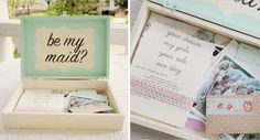 Ask your leading ladies in a special way, love this box of trinkets!