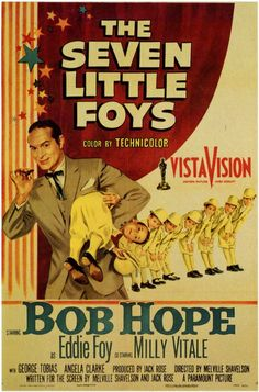 1955 movie posters | The Seven Little Foys Movie Posters From Movie Poster Shop