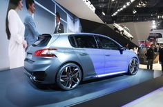 New Price Release 2015 Peugeot 308 R Hybrid Review Rear Side View Model