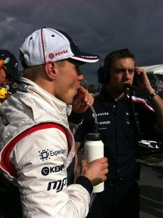 Valtteri Bottas on the grid - 2013 Australian GP