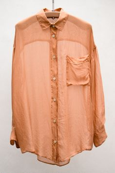 Silk Ruggine Shirt | $320