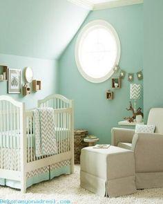 cool Mint Yeşili Bebek Odası 2016