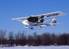 planes on skis | aircraft skis, trike ultralight skis, 1000 Series retractable aircraft ...