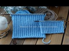 Dense knitting pattern + elastic band 1 on 1 with removed loop - Herzlich willkommen Knitting Designs, Knitting Stitches, Baby Knitting, Knitting Patterns, Bear Blanket, Bargello, Knitted Hats, Couture, Sewing