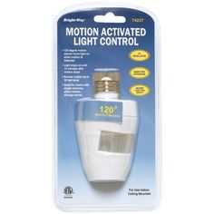 Bright-way Motion-activated 120deg Indoor Light
