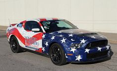 2011 Shelby GT500 Mustang (Wounded Warriors Project)