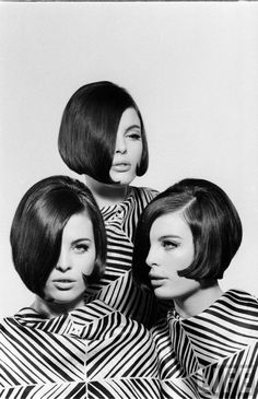The sharply defined area of Sixties culture. Vidal Sassoon, Mary Quant, Andre Courreges, Pierre Cardin, co-existed with boho hippies and frilly rich girls.