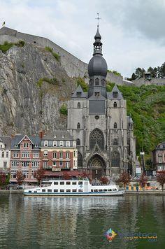 Conhecendo a Bélgica: Dinant