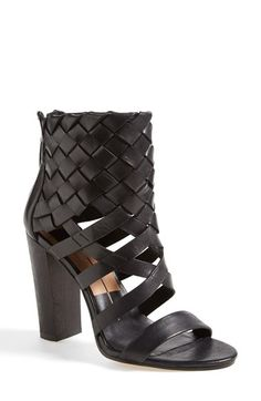 Free shipping and returns on Dolce Vita 'Nakita' Woven Leather Sandal at Nordstrom.com. Leather straps in a classic basket weave intensify the modern elegance of a bold sandal set on a chunky heel.