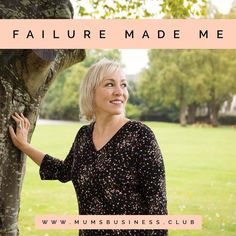 Failure made me learn failure made me see failure made me listen failure made me grow failure made me strong failure made me proud failure made me me  Please don't worry about failing. Don't let it stop you building a business you love. Failure is an essential part of business of life. Learn from your experience and move on  I've failed LOTS! Read my about page - link in bio