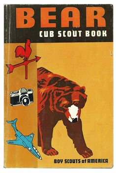 Bear Cub Scout Book - Vintage Boy Scouts America Children's Book 1960's $9.00