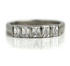 Antique Wedding Rings and How to Buy Them? Antique Wedding Bands, Antique Engagement Rings, Antique Rings, Diamond Wedding Bands, Diamond Engagement Rings, Wedding Rings, Emerald Cut Diamonds, Diamond Cuts, Platinum Price