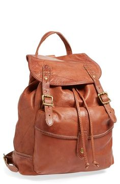 Frye 'Campus' Leather Backpack available at #Nordstrom Like?!