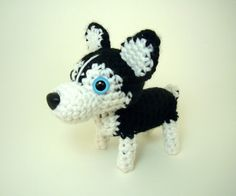 Amigurumi Legs Tutorial : crochet husky on Pinterest Husky, Siberian Huskies and ...