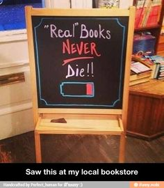 Real books!