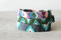 Geometric Friendship Bracelets