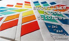 snowflakeblock by SelDear, via Flickr