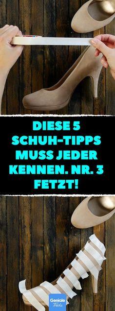 Diese 5 Schuh-Tipps muss jeder kennen. Nr. 3 fetzt! Schuhe aufpeppen: 5 DIY-Ideen, um deine Schuhe zu verschönern. #diy #schuhe #aufpeppen #färben #pimpen #gestalten #verschönern