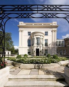 This glamorous end-terrace house in Cornwall Terrace on Regent's Park in London has sold for $120 million, the most expensive terrace home in history...