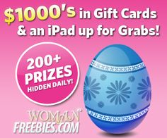 Check out our virtual egg hunt! 1000s of gift cards & a new iPad up for grabs! Enter here alturl.com/9xabo