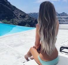 Billedresultat for half silver hair half dark hair More