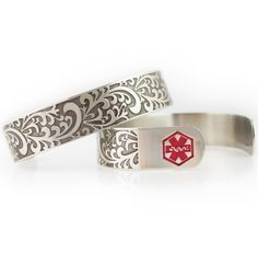 Filigree Medical ID Cuff - OMG!!! I just love love this one and I have got to have this one - this is a show stopper :)