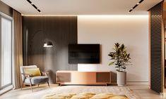 Rendering Of A Luxurious Bedroom Interior Photography , 3d Interior Design, Apartment Interior Design, Interior Design Kitchen, Interior Design Inspiration, Tv Unit Furniture Design, Tv Unit Design, 3d Living Room, Berlin, 3d Max Vray