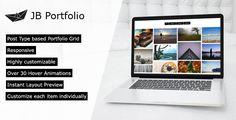 nice JB Portfolio - a lightweight Portfolio Plugin for WordPress (WordPress)