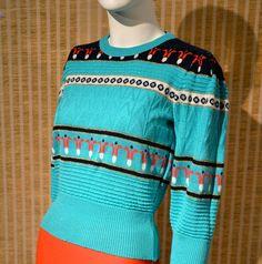 Sweater + scandinavian patter