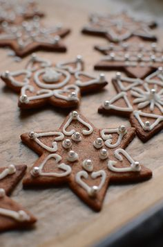 Pepparkakor med kristyr, Swedish gingerbread cookies for christmas