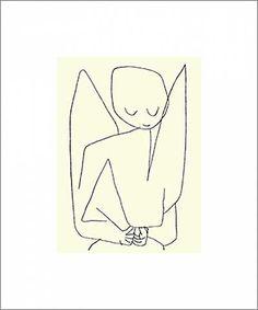 Paul Klee - Vergesslicher Engel, 1939