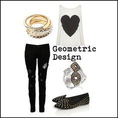 """Geometric Design"" by eternal-sparkles-stylist on Polyvore  www.eternalsparkles.com"